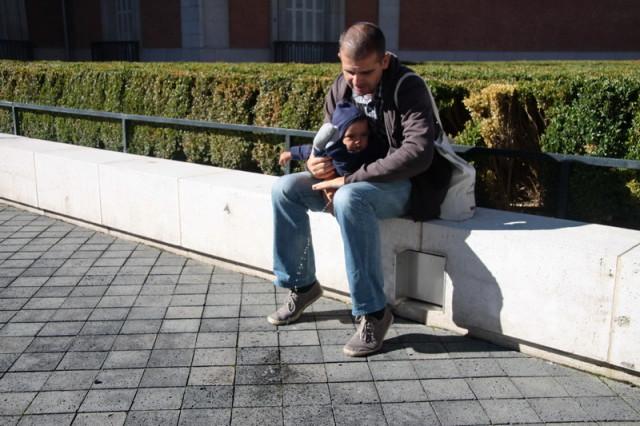 Octombrie, Madrid, soare cu dinti, EC se aplica.