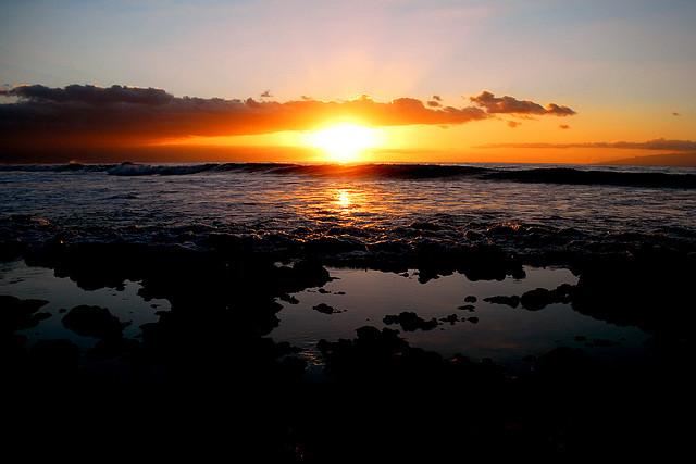 Cât despre apusurile de soare, ei bine, ăstea sunt grozave oriunde. La fel şi în Tenerife.