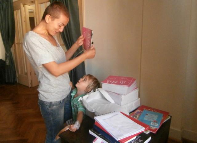 Fericire mare, mama e scriitoare :D