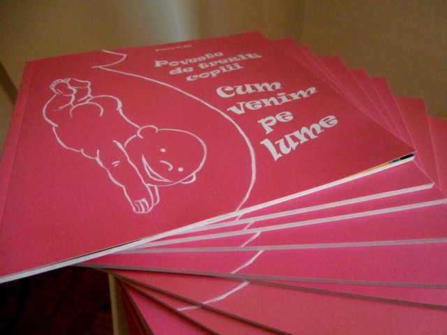 Cartea are 50 de pagini color, format 20x20 cm